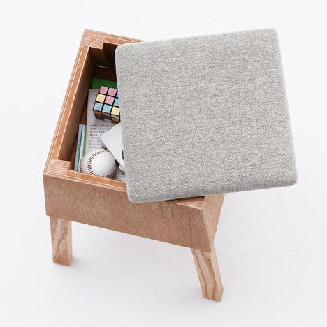 Koloro Desk & Stools by Torafu Architects
