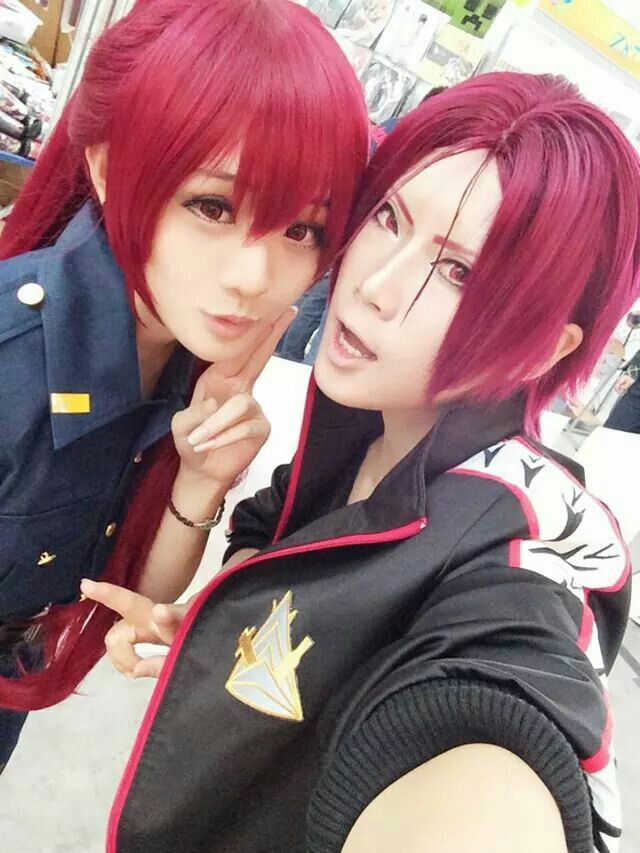 free iwatobi swim club rin and sister cosplay cosplays