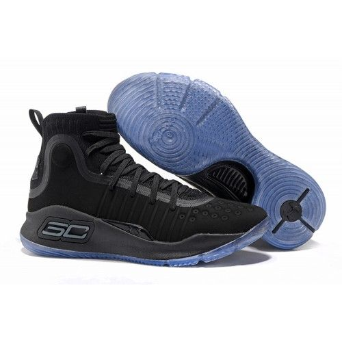 Curry Shoes 2017 New Under Armour UA Curry 4 Basketball Shoes Black