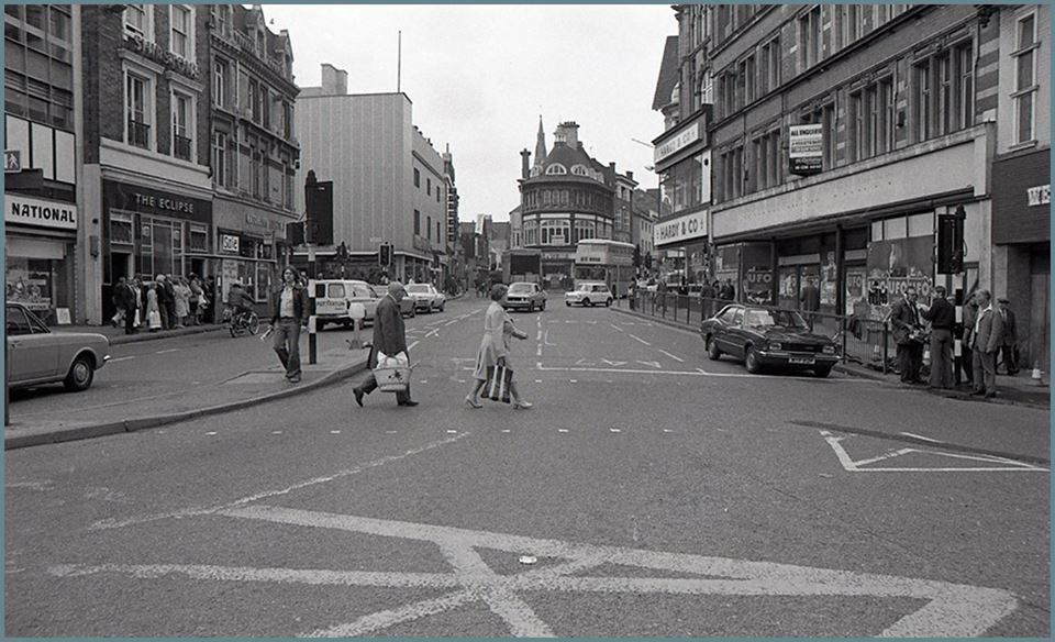 (6) Leicester Past & Present ~ A walk down Memory Lane.  Eastgates,1978.