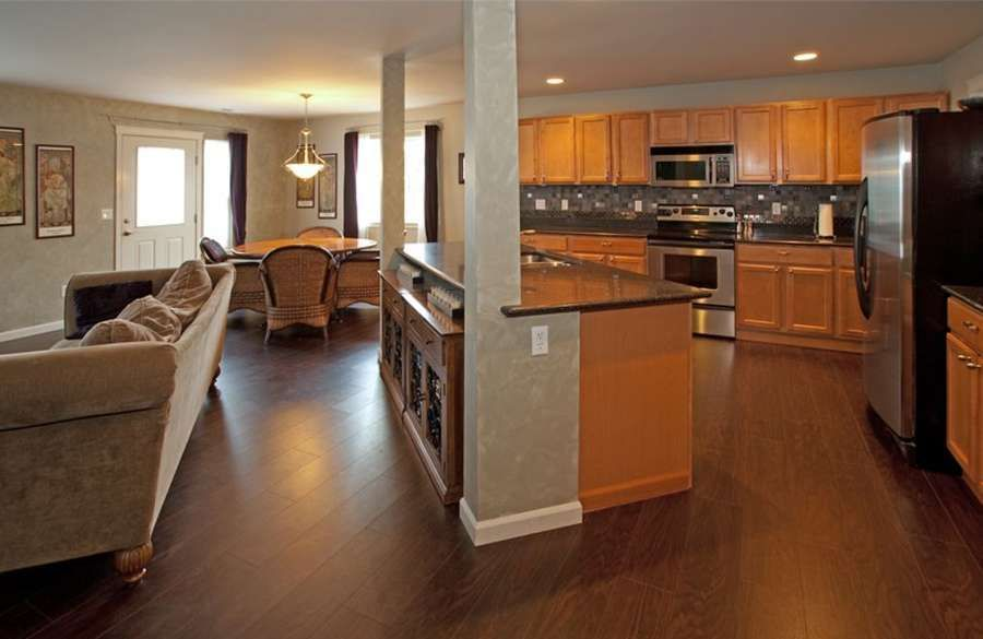 Kitchen Great Room Combinations | Open concept plan - kitchen ...