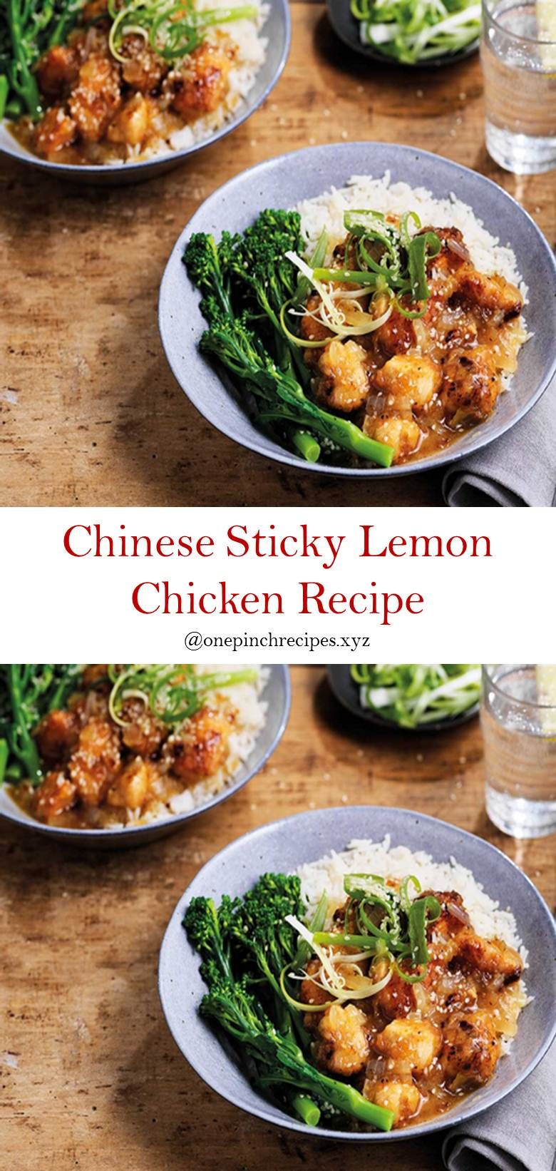 Photo of The Best Chinese sticky lemon chicken recipe