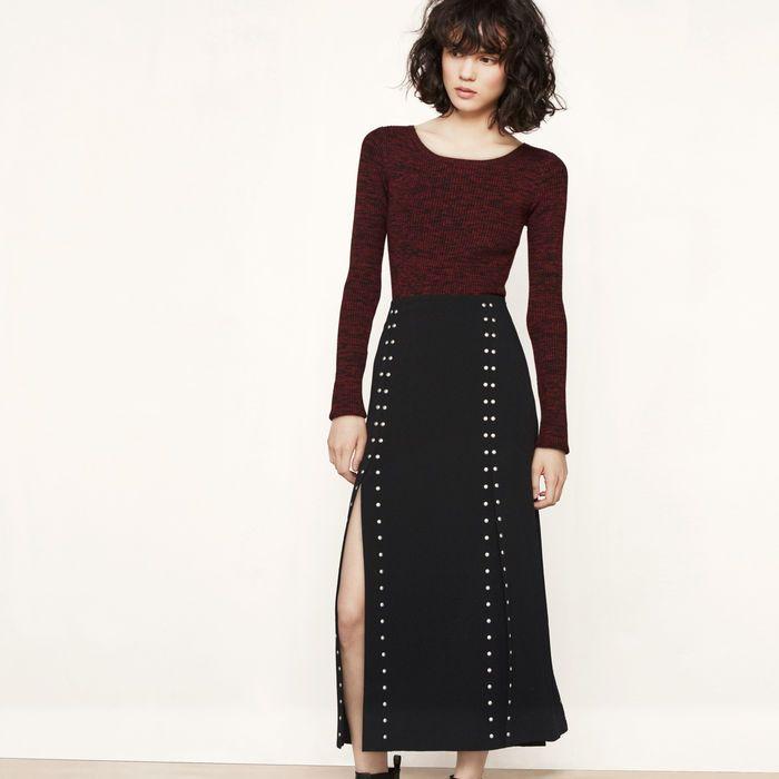 JUDEJUDE Black 210   maje.com Vêtements Femmes, Robe Longue, Longues, Prêt 6f4cd8ca5e22