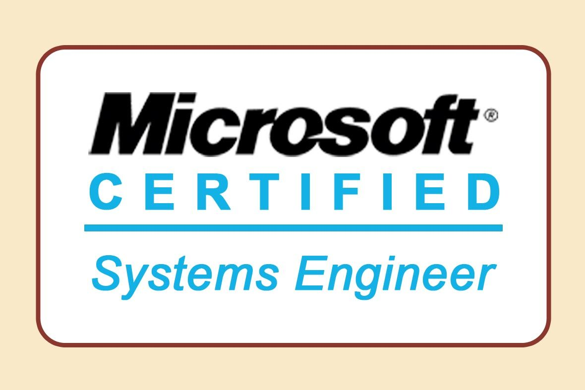 The Mcse Stand For Microsoft Certified Systems Engineer This Is
