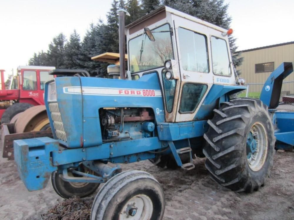 Ford 8000 Farm Tractor ONLINE ONLY AUCTION Ending