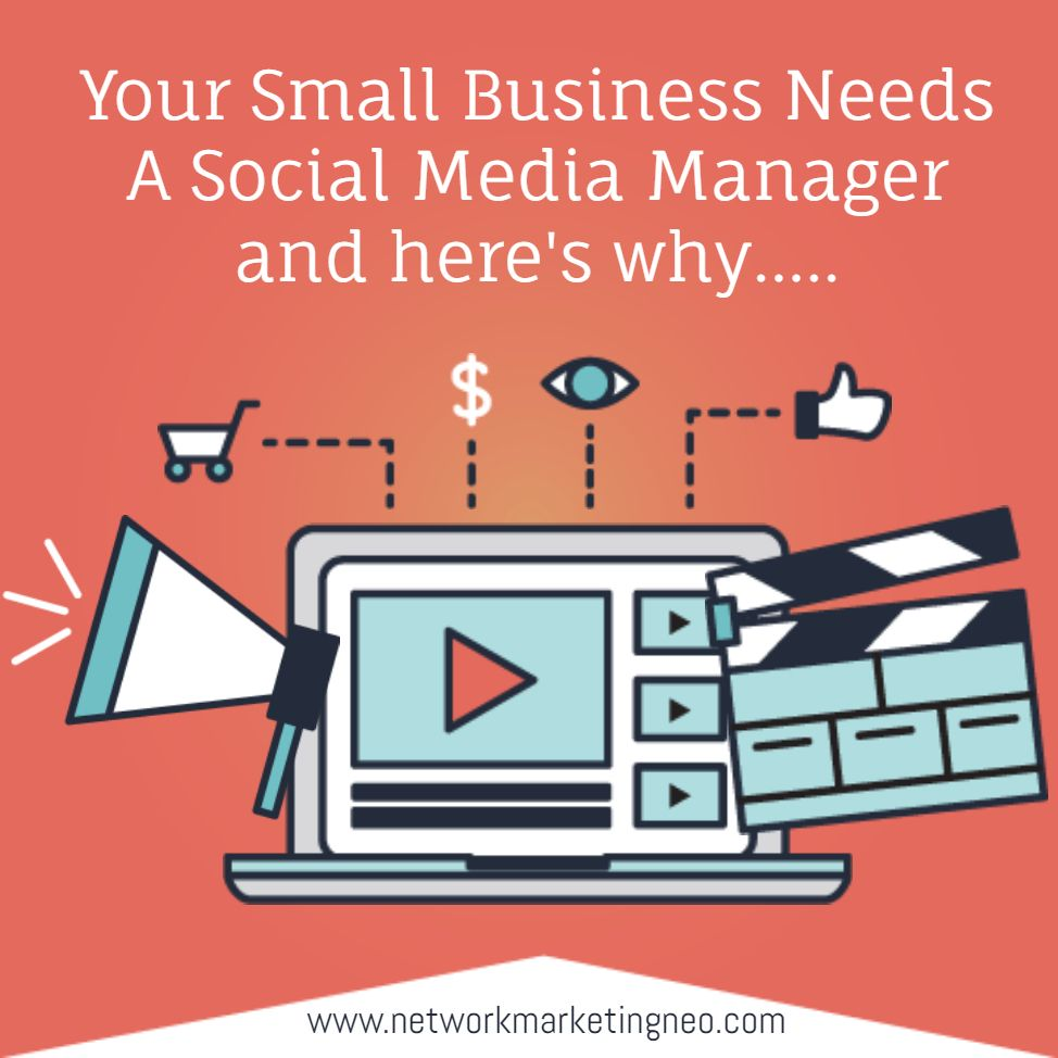 4 Reasons Why Your Small Business Needs Social Media Marketing 1 Social Media Marketing Is Efficient The Facebook Ads Manager Marketing Campaigns Social Media