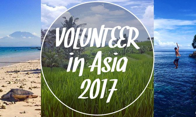 Want to volunteer in Asia in 2017? Find safe and affordable programs to volunteer abroad in Bali, Sri Lanka, Cambodia and more…