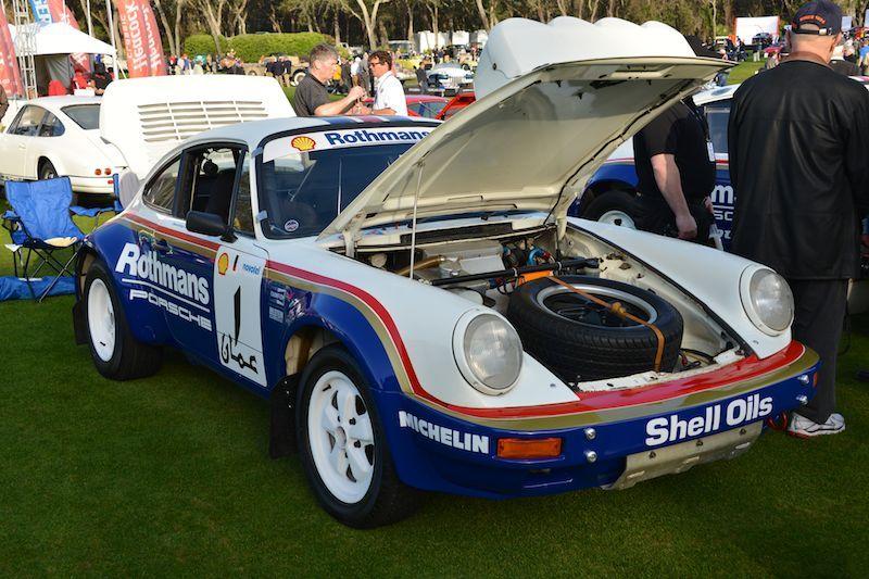 Amelia Island Concours 2013 - Porsche 911 Race Car Photos