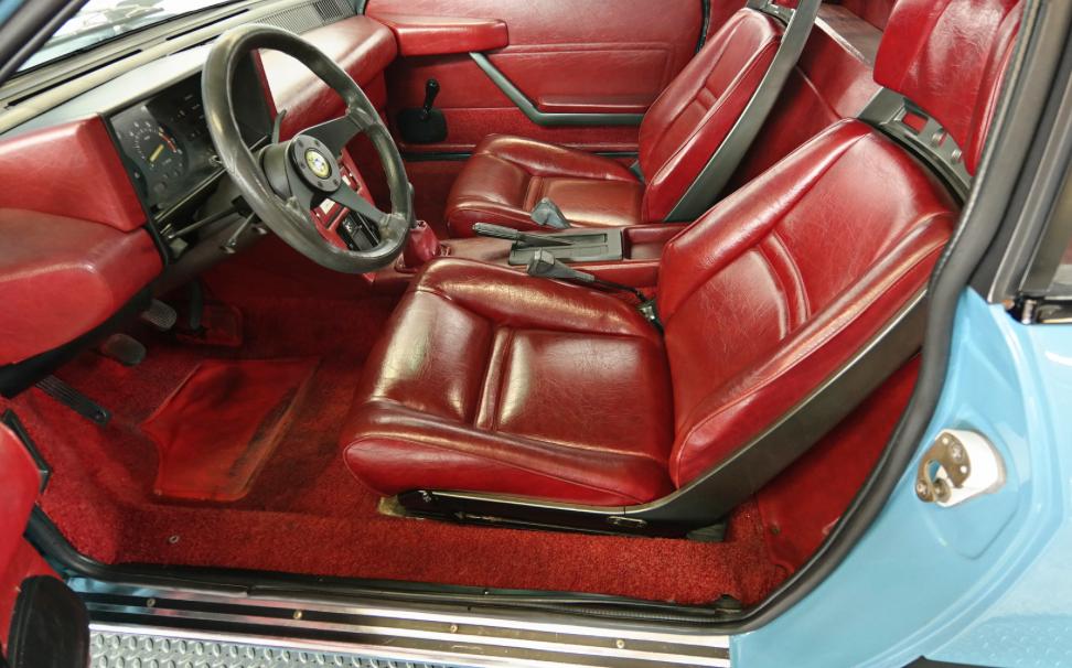 Interior Of A Lancia Beta Montecarlo