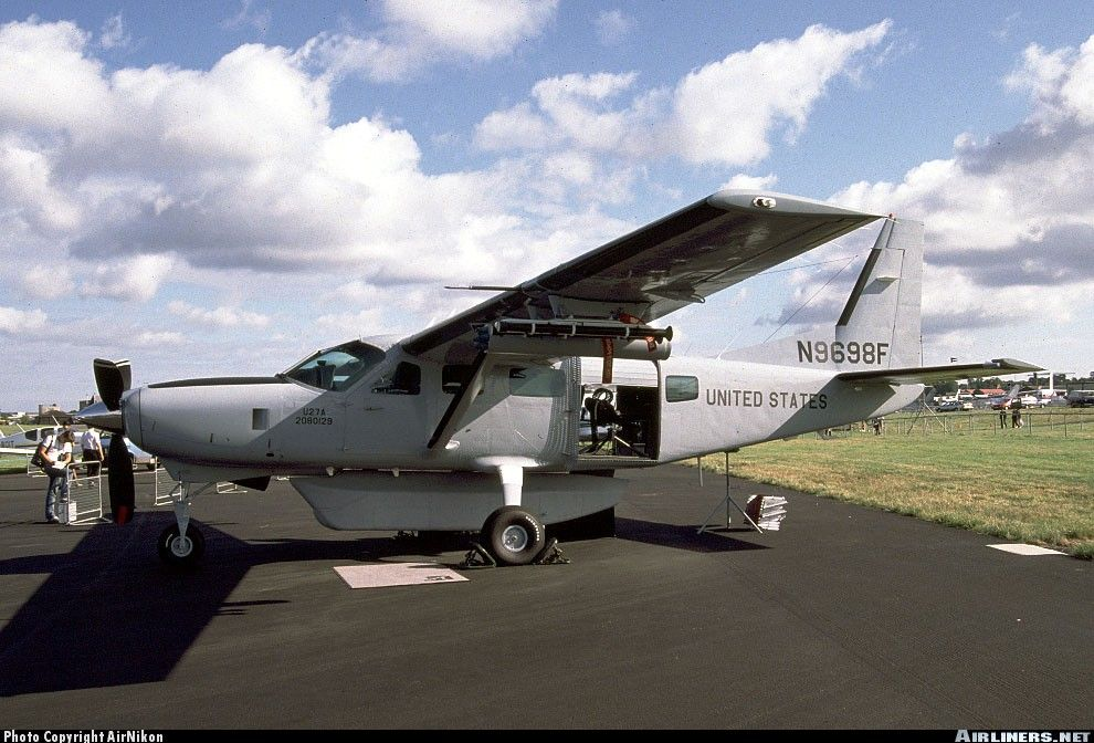 Cessna Fireforce support