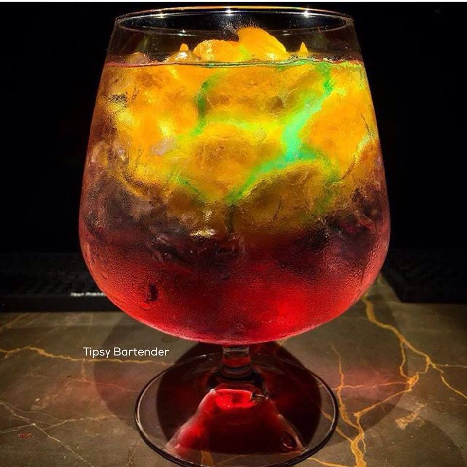 Galaxy Cocktail Tipsybartender Com Alcoholic Drinks Bar Drinks Cocktails