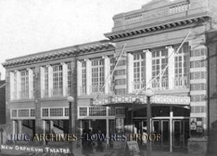 New Orpheum Theatre, 1913