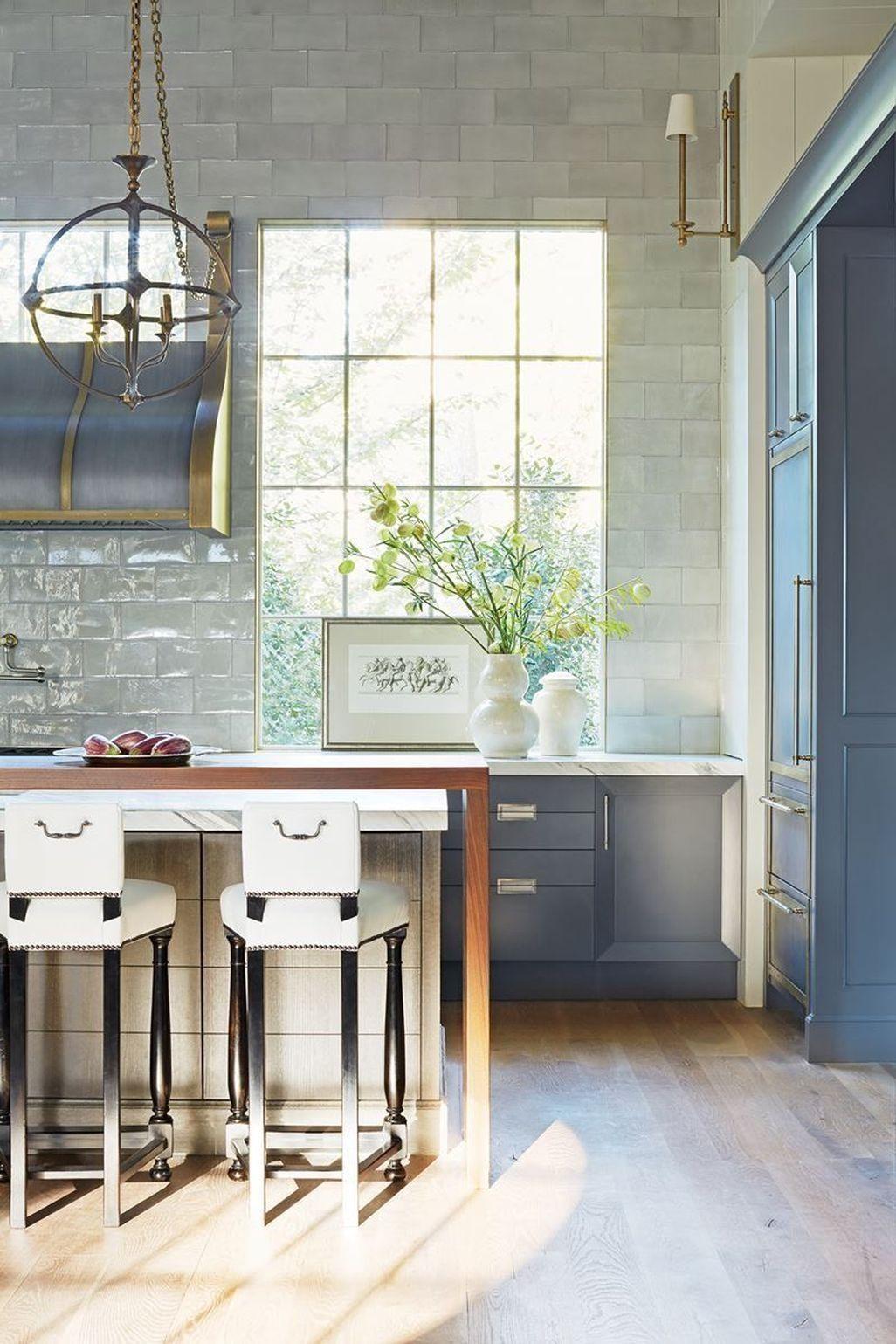 Stunning 47 Affordable Transitional Kitchen Design Ideas