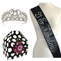 21 & Fabulous Glamour Gram – 21st Birthday Party Gift #21stbirthdaysash 21 & Fab…