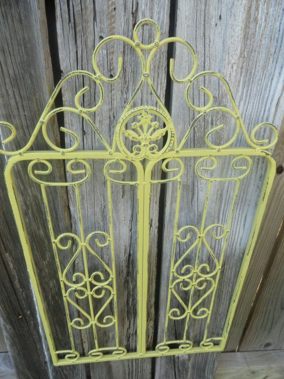 Metal Wall DecorSmall Metal Garden GateWall Hanging GateShabby