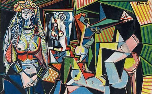 """""""Les Femmes d'Alger (Version O)"""" by Pablo Picasso"""