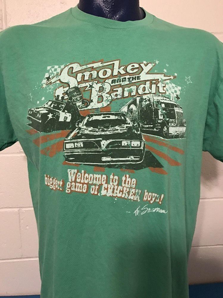 dd6d854b1c Vintage - Smokey and the Bandit - Tee Shirt - XL Green -