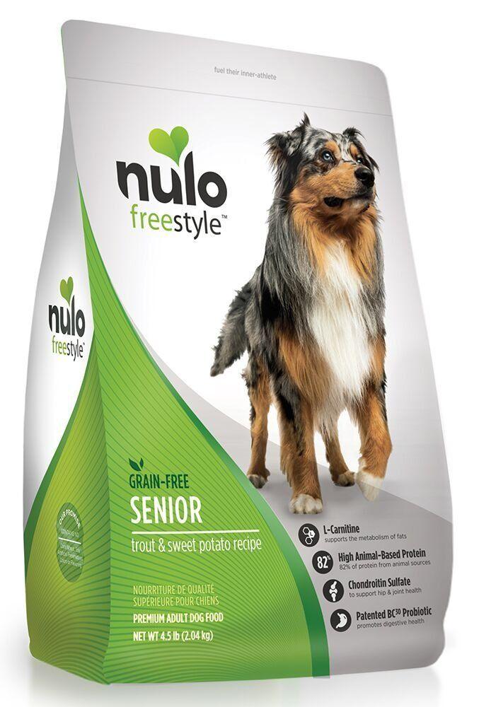 Nulo Grain Free Senior Dog Food With Glucosamine And Chondroitin
