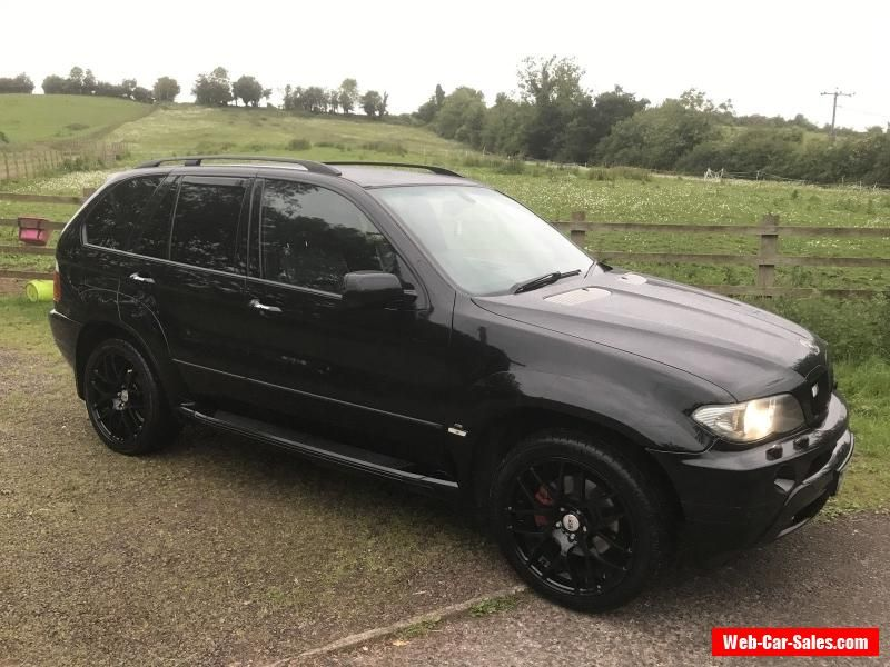 Car For Sale 2005 05 Bmw X5 3 0 Diesel Black 5 Door M Power Body