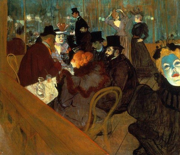 Moulin Rouge by Henri de Toulouse Lautrec