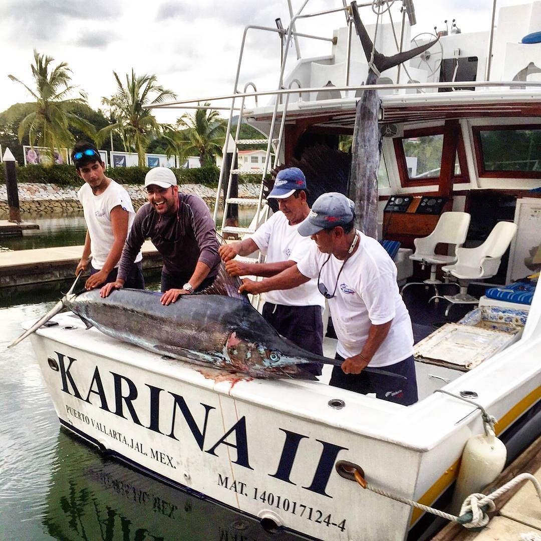 Enjoy a trip aboard Karina ll. Disfruta de un viaje abordo de la Karina ll. #fishing #pesca #lancha #boat #puertovallarta #vallartafishing #fishingtrip #viajedepesca #mikesfishing