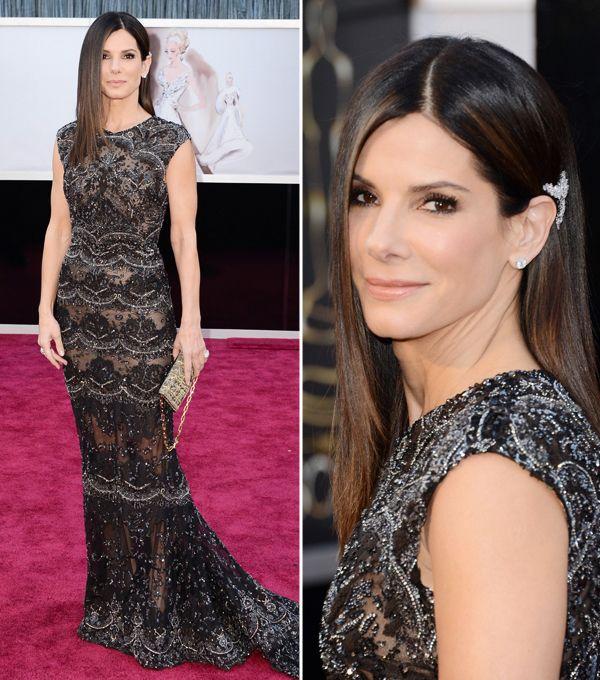 Sandra Bullock tiene el vestido perfecto para la cena de
