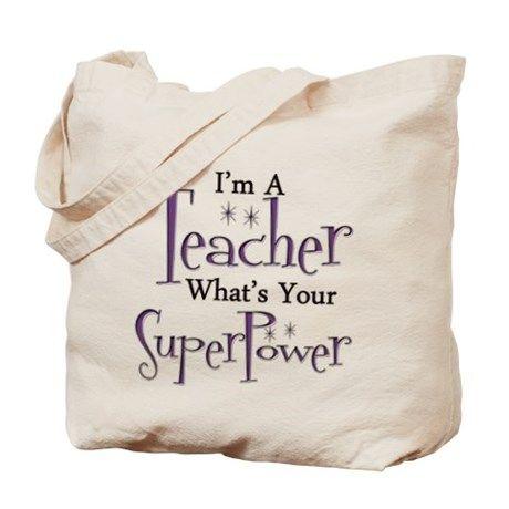 Super Teacher Tote Bag on CafePress.com