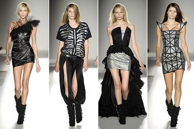 That dress on the right...so fabulous and futuristic!
