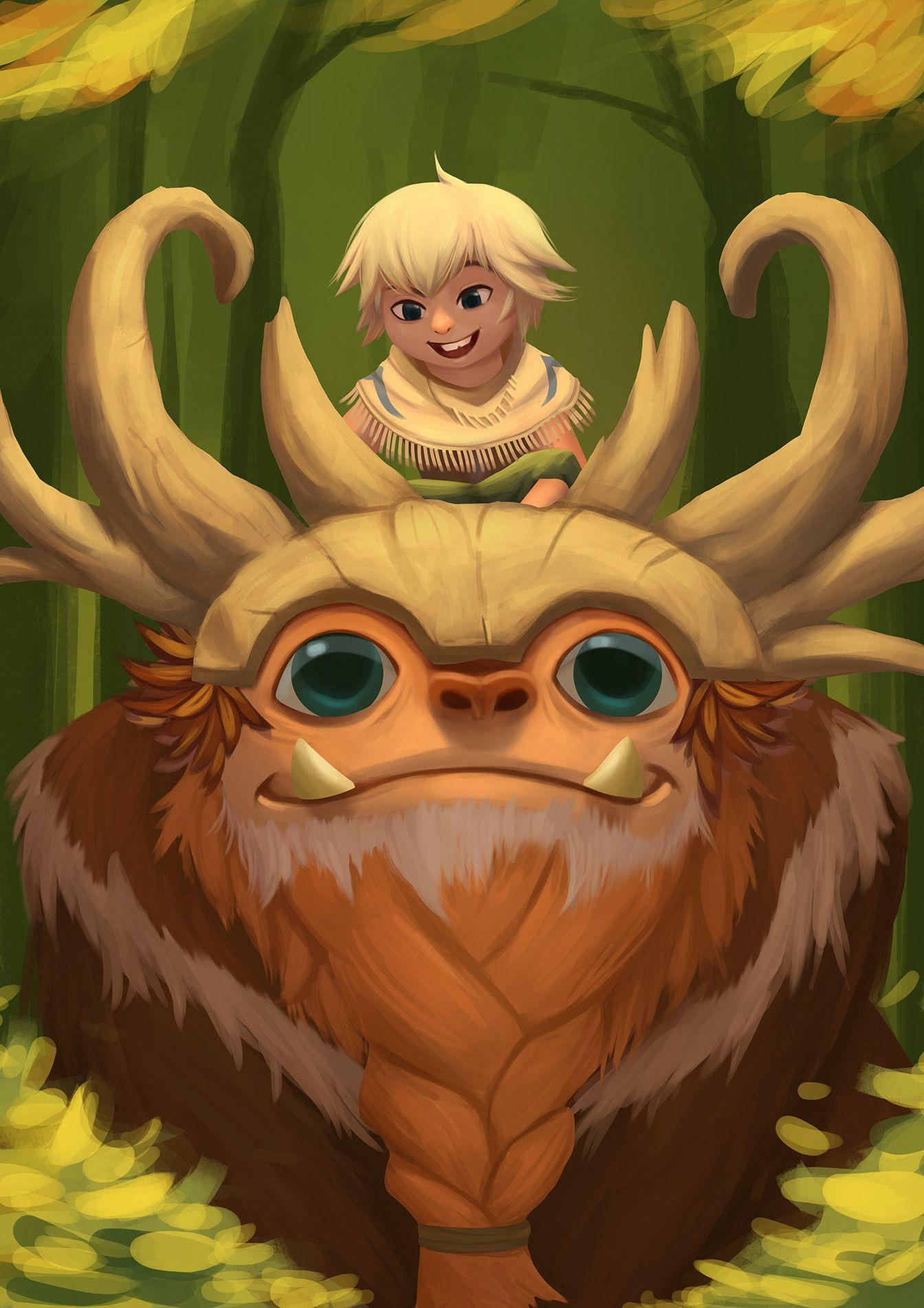 Artstation Sasquatch Nunu And Willump Fanart Pol Mamaril League Of Legends Artwork Fan Art