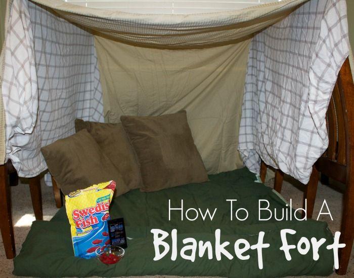 How To Build A Blanket Fort Blanket Fort Pillow Fort Diy