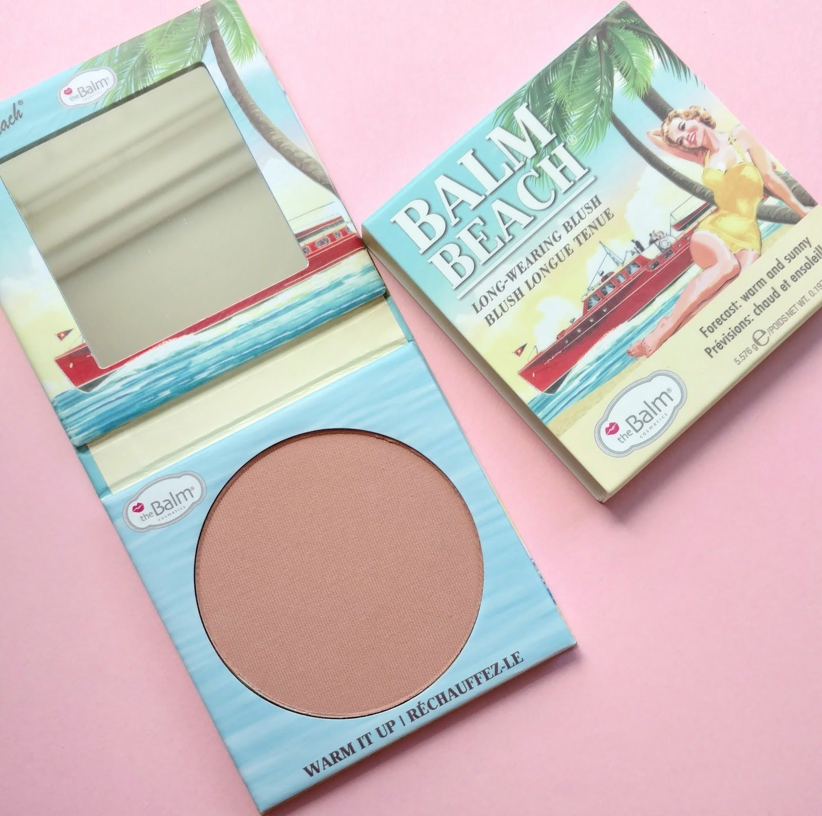 The Balm Beach Long Wearing Blush Review Swatches