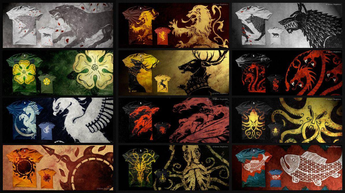 Shirt design games - Game Of Thrones T Shirt Design By 7narwen On Deviantart