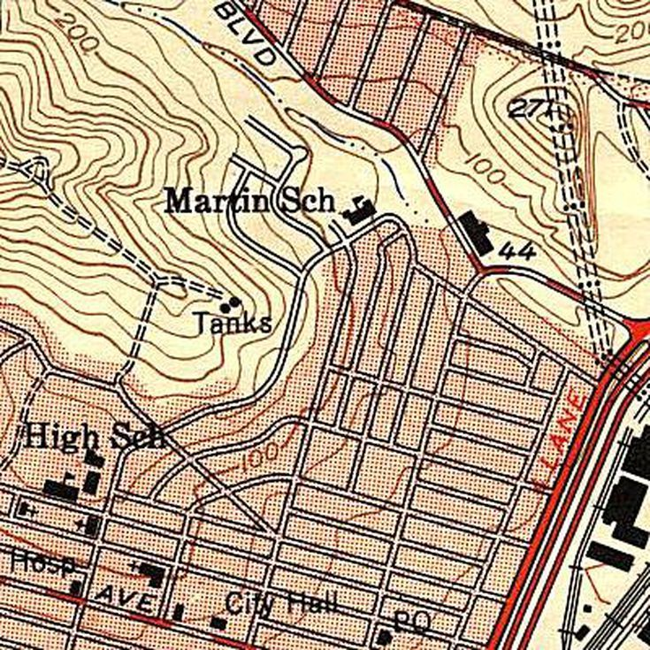 Learn To Read A Geologic Map Topographic Map