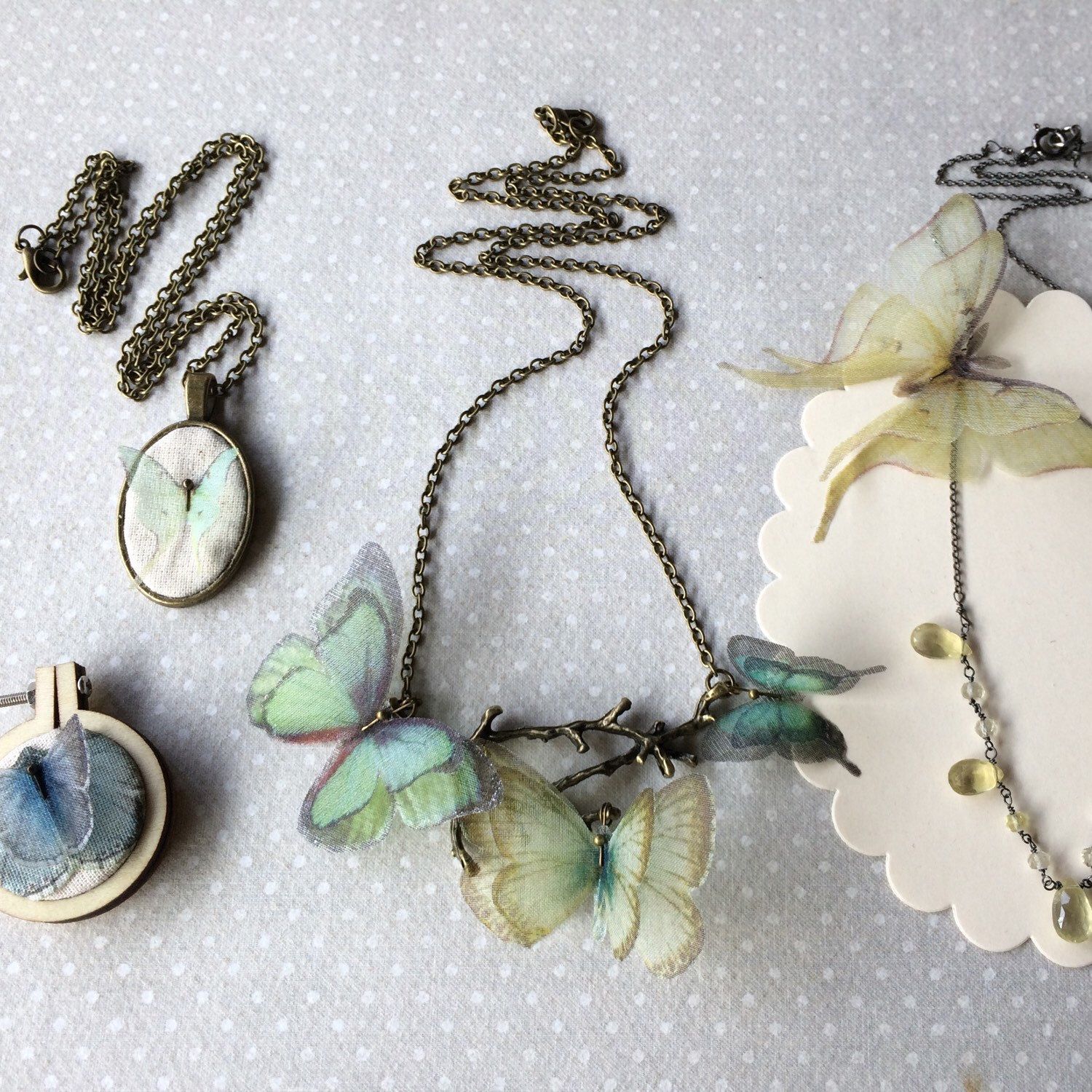 New precious pieces of jewelry.. listed right now! I love all of them