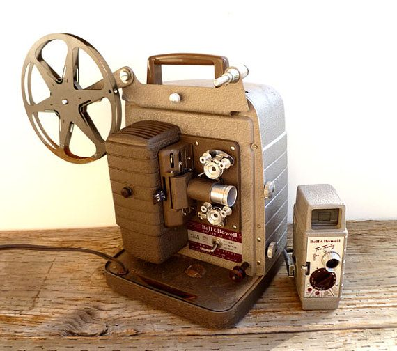 Bell Howell Movie Camera 1950s Bing Images With Images