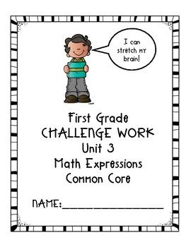 Does your first grade class use Houghton Mifflin Math Expressions Common  Core? Do some of