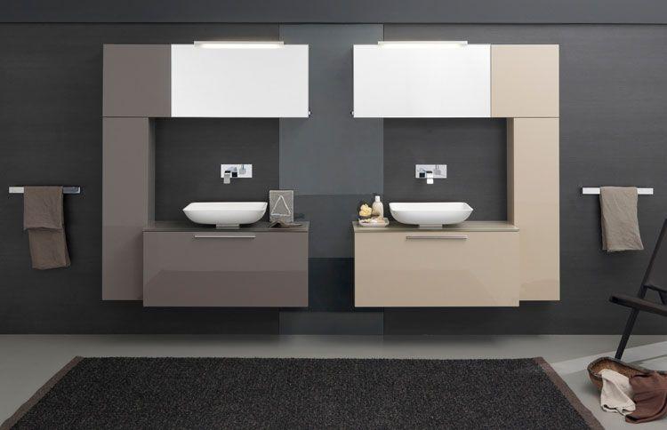 50 magnifici mobili bagno sospesi dal design moderno bagni di