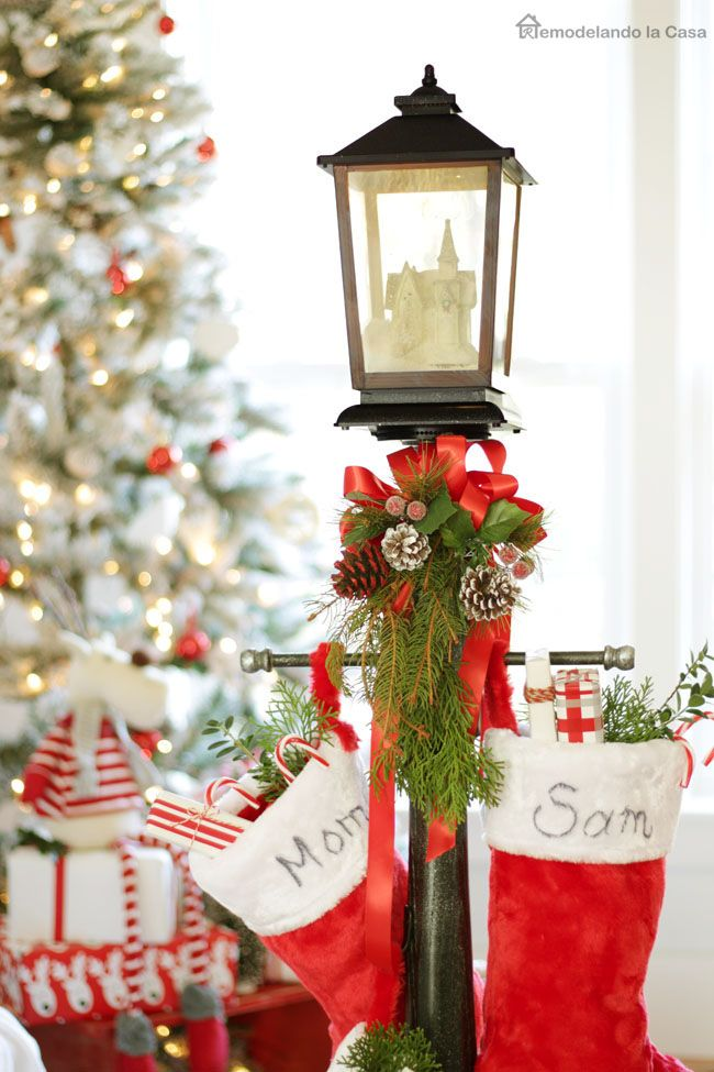 Diy Stocking Holder Amp The Home Depot Virtual Party