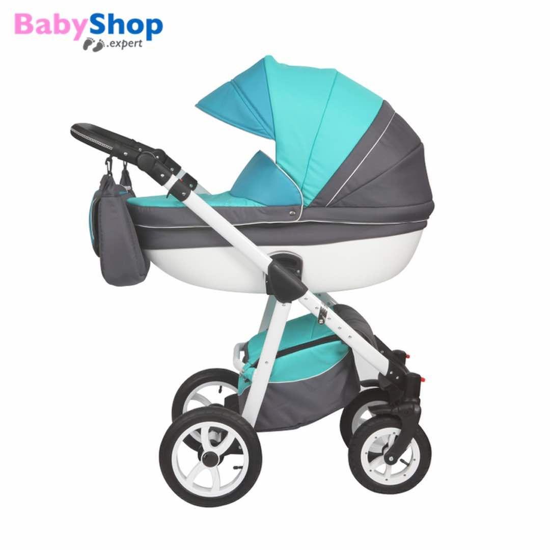 Kombikinderwagen Moretti 3in1 - türkis http://www.babyshop.expert/Kombikinderwagen-Moretti-3in1_2  #babyshopexpert #kombikinderwagen #kinderwagen #moretti