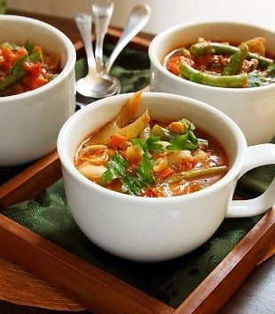 My 5:2 Fast Day Vegetable Soup. #weightloss #fastingdiet #healthyfood #healthysoup