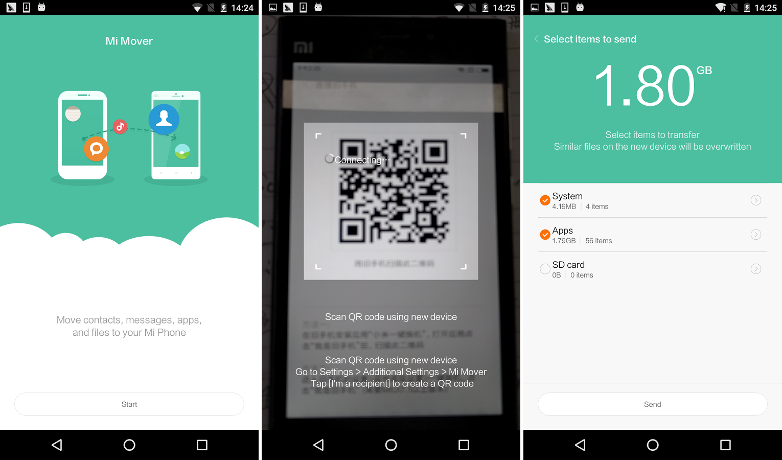 Xiaomi #MI Mover app for #Android | Best Apps | App, Best apps