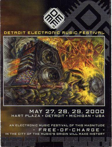 Demf 2000 Electronic Music Festival Electronic Music Detroit