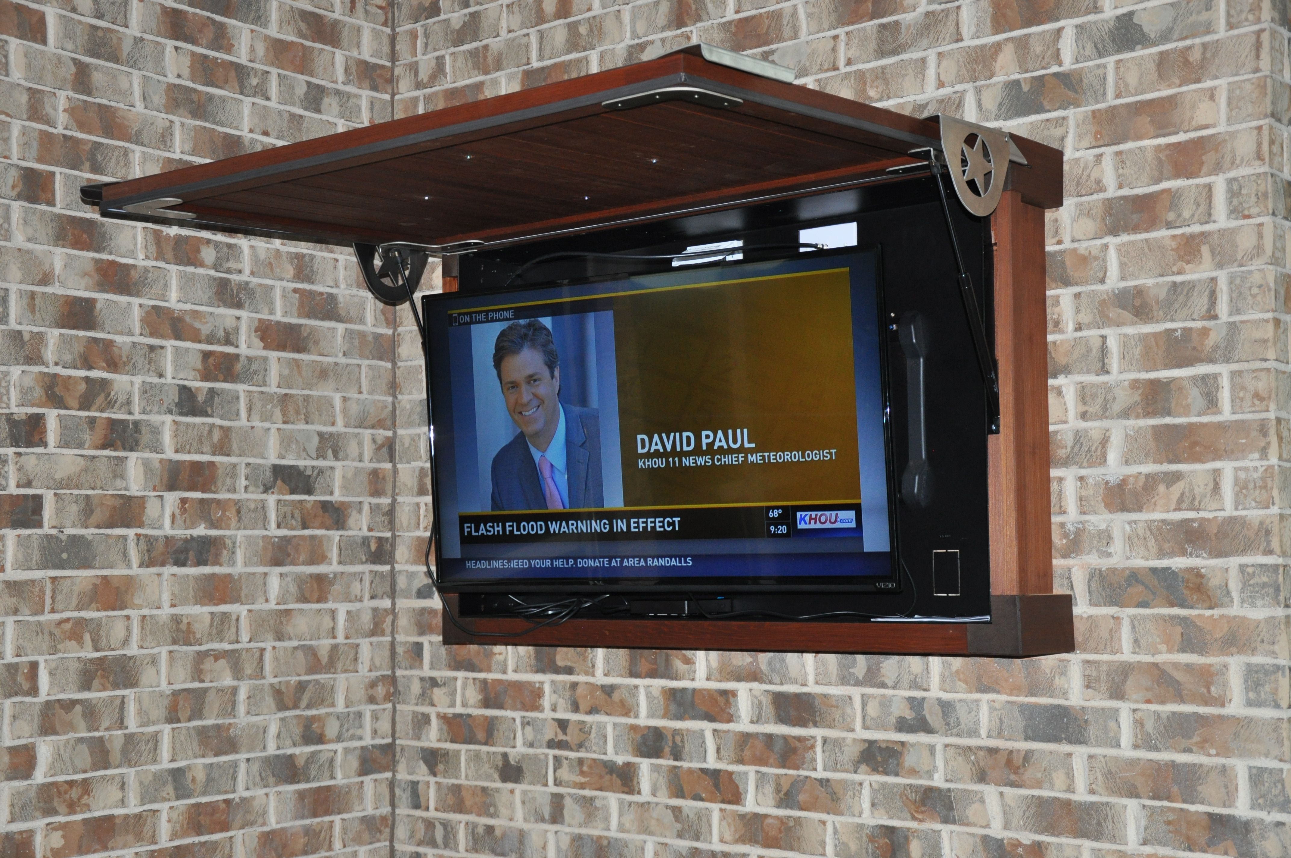 Top Hinge Tv Cabinet For Tight Places Outdoor Tv Cabinet