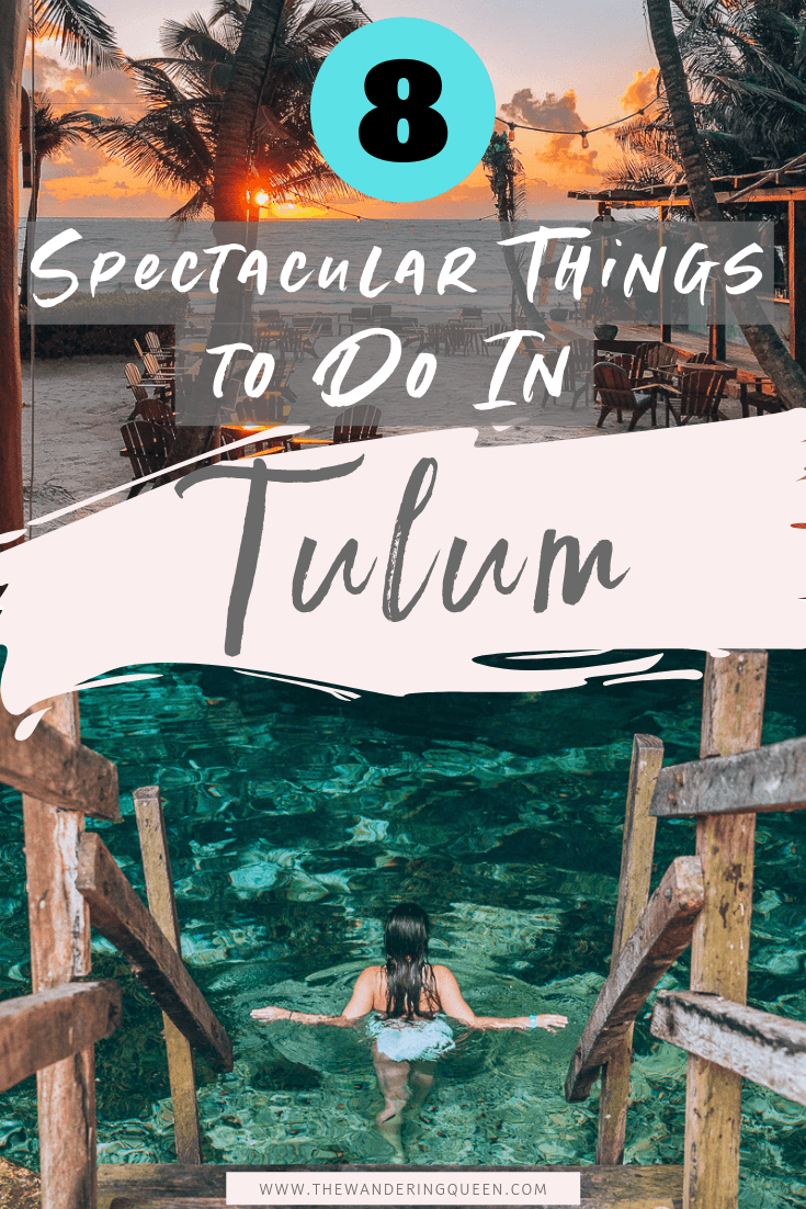 8 Spectacular Things To Do In Tulum Mexico is part of Tulum travel, Mexico travel guides, Tulum mexico, Mexico travel, Mexico vacation, Tulum - Click Here to find out the BEST things to do in Tulum Mexico! This includes maps, cenotes, hotels, food, beaches, ruins, and much more!