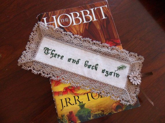 Hobbit bookmark by OneStickVoodoo on Etsy, $11.00