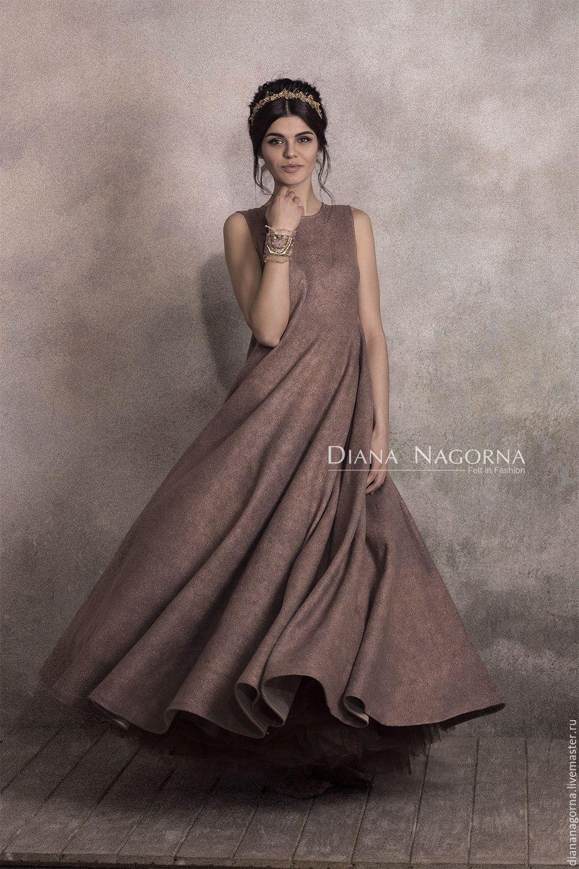 9d767e3d155 Купить The Pink Ash Dress. платье из мериносовой шерсти и шелка в интернет  магазине на Ярмарке Мастеров
