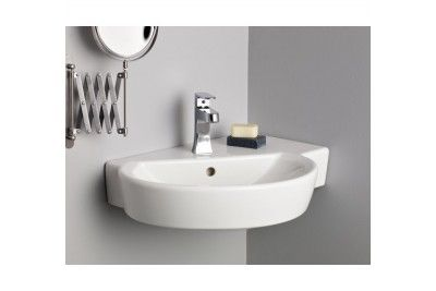 Cheviot 1326 Wh 1 Barcelona Wall Mount Sink With Single