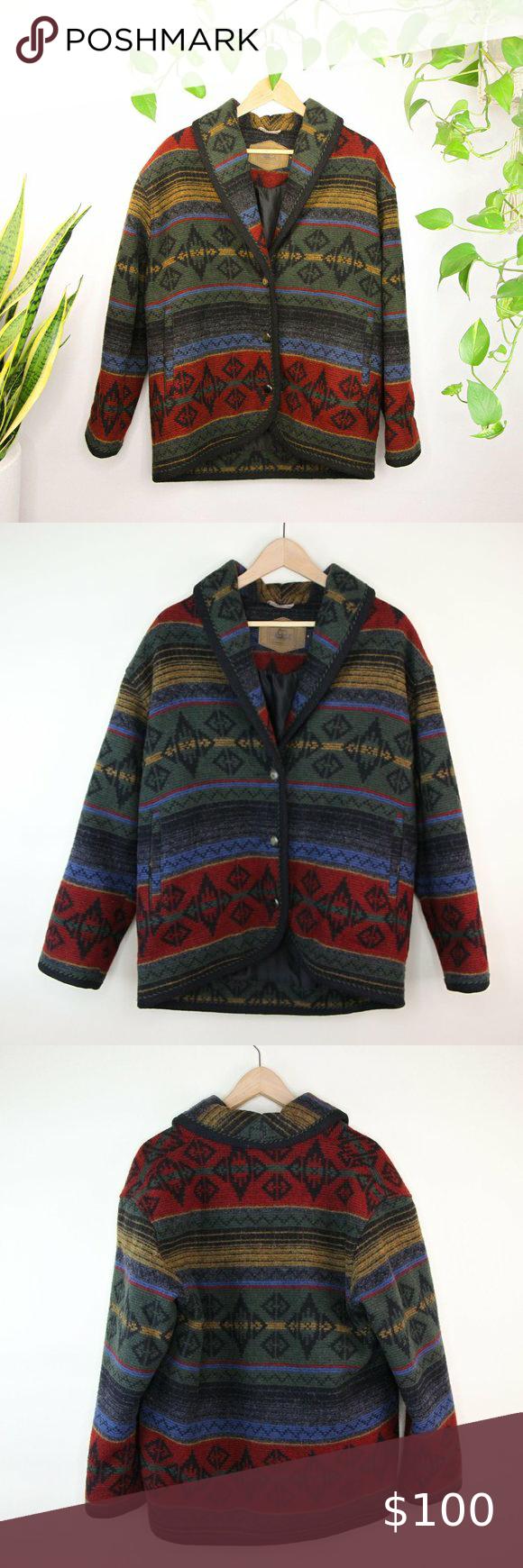 Vintage Woolrich Aztec Navajo Southwestern Jacket Vintage Woolrich Bomber Jacket Women Red Bomber Jacket Women [ 1740 x 580 Pixel ]