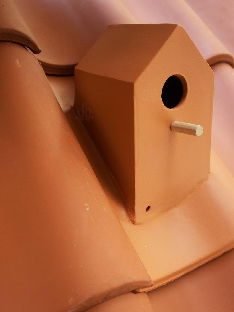Birdhouse Rooftile By Klaas Kuiken Ceramic Birdhouse Bird House Bird Houses