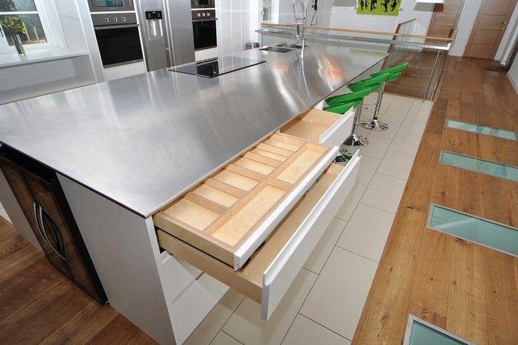 Edelstahl Arbeitsplatte für die Küche – die Vor- und ...